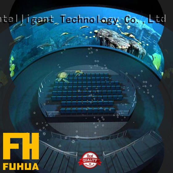 Fuhua Luxury dome cinema Projector system for space & science center
