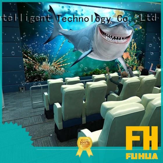 Fuhua Virtual Reality 5d cinema for sale for theme park