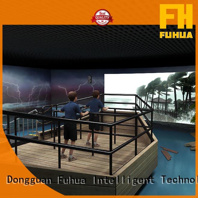 Fuhua popular typhoon simulator simulator Scenic area