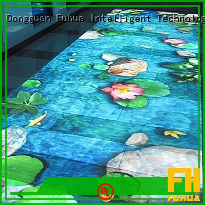 interactive interactive projector games for kids party Fuhua