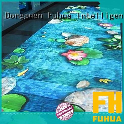 Fuhua relaxing 3d holographic projection supply for game center