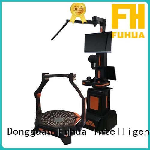 Fuhua fiberglass shooting game machine factory for cinema