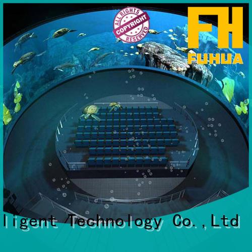 Luxury inflatable cinema wholesale for museum Fuhua