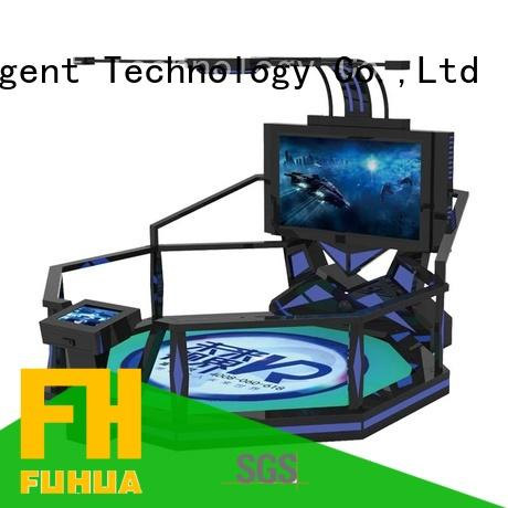 Quality Fuhua Brand platform shooting game simulator