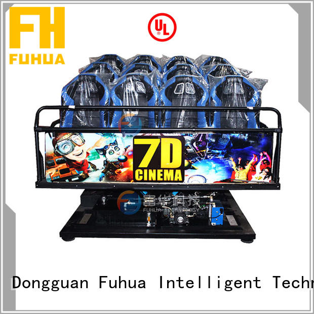 Wireless 7d motion cinema display system Tourist Attractions Fuhua