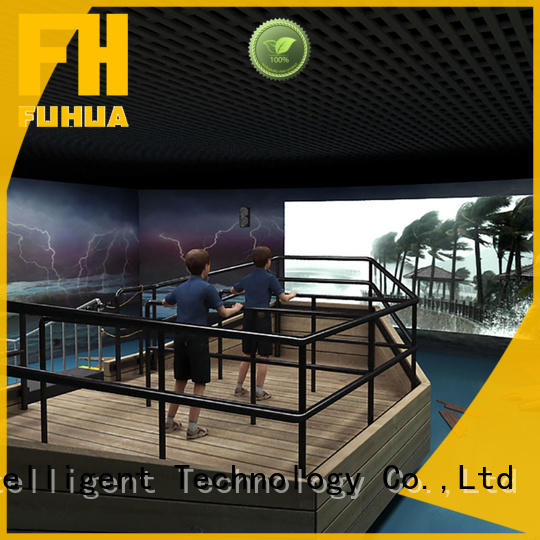 Fuhua 3d typhoon simulator for education