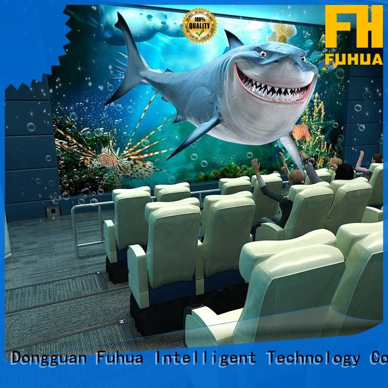 Fuhua Interactive 5d cinema different experience for theme park