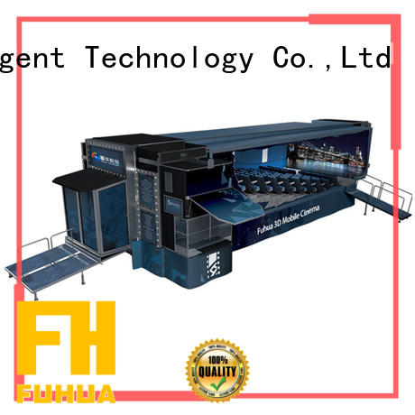 Fuhua mobile mobile cinema air conditioning system control system for family entertainment centres