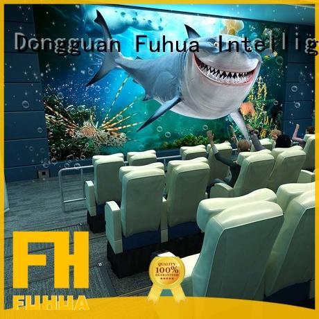 Interactive 4d 5d cinema fuhua for sale for cinema