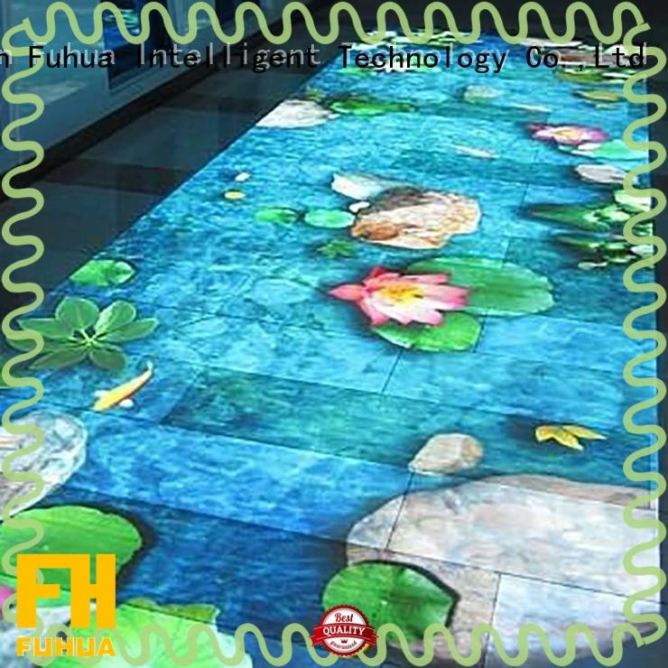 Fuhua kids 3d projection mapping for sale for square