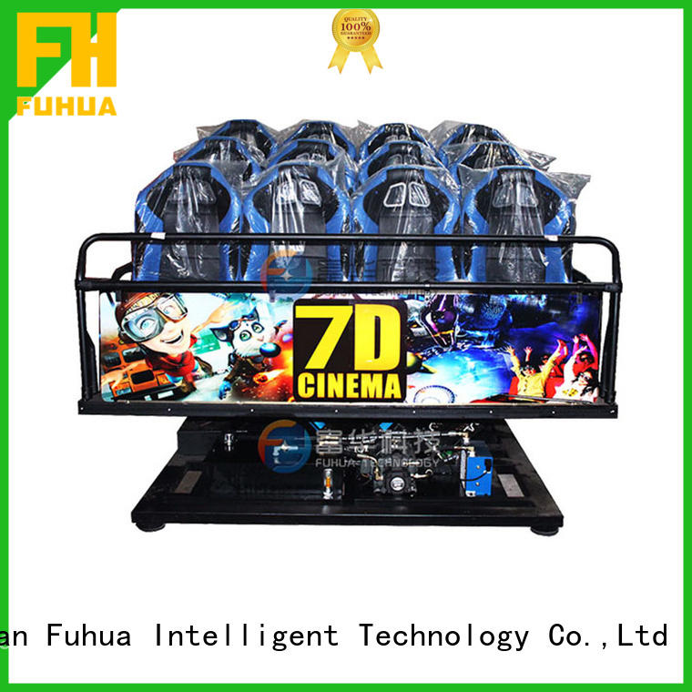 Attractive 7d cinema dof control system for zoo