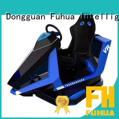 Fuhua international vr racing car engines for amusement