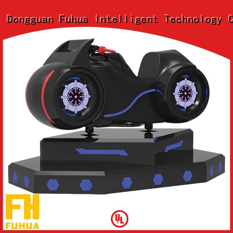 Fuhua cool vr racing simulator for sale