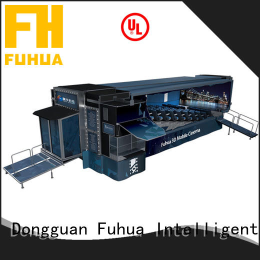 Fuhua mobile theater dynamic seats for cinemas