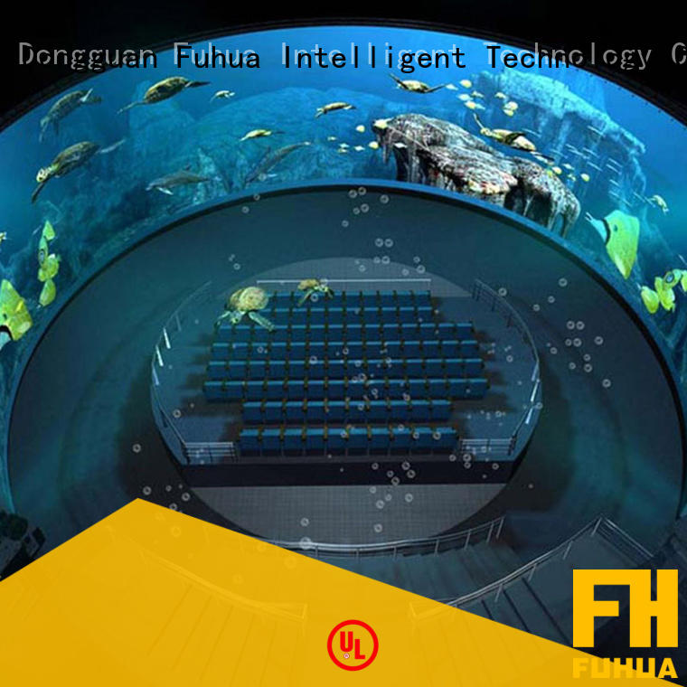 Fuhua High-tech dome theater Realistic Effect
