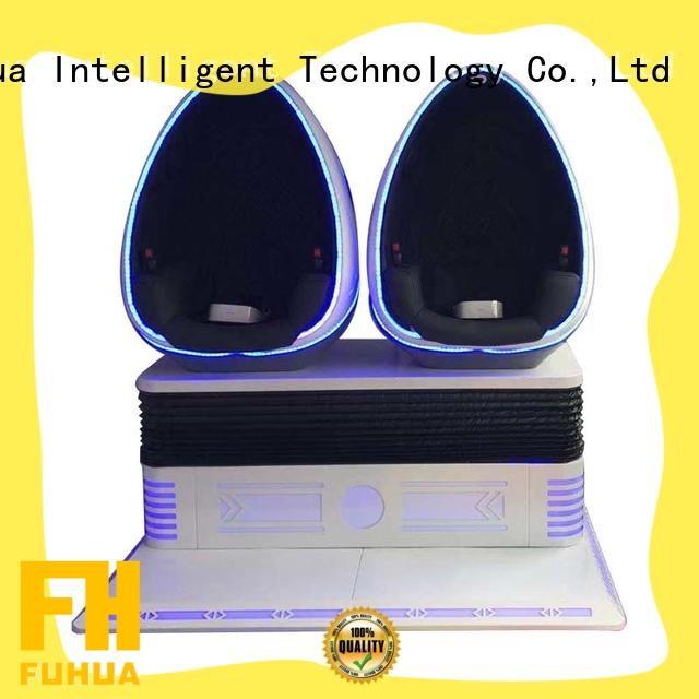 Hot park 9d egg cinema indoor Fuhua Brand