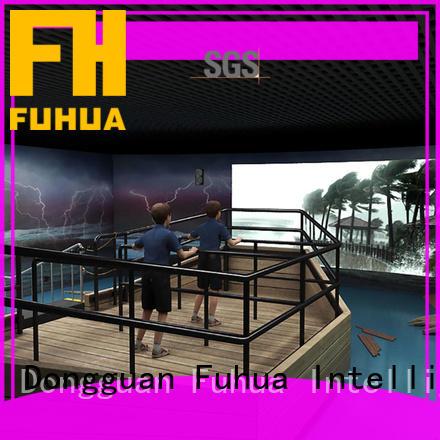 fuhua typhoon simulator for education for museum Fuhua