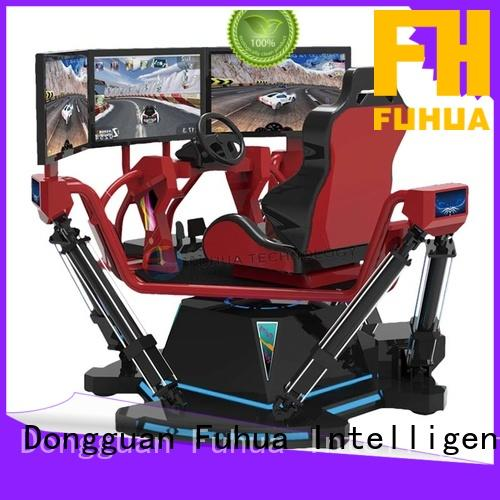 motorcycle car racing simulator for sale for theme park Fuhua