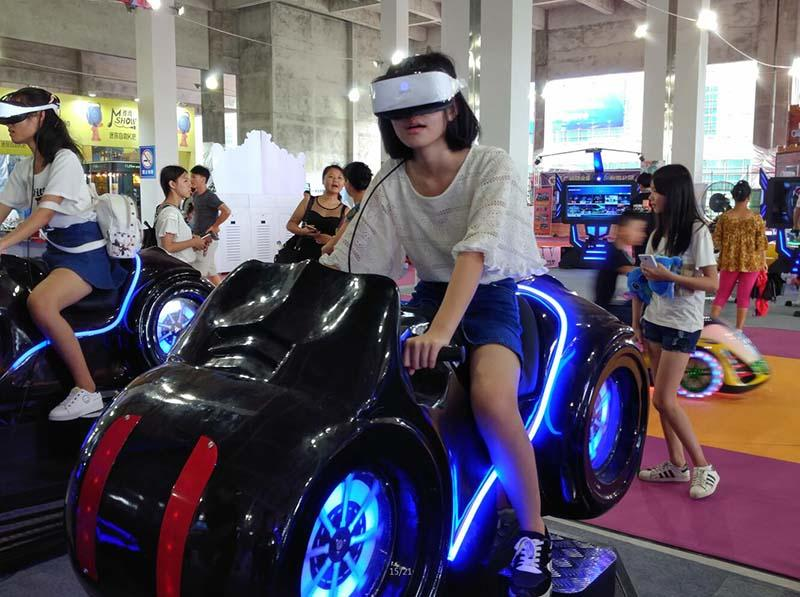 Fuhua fashionable racing vr dynamic control technology for theme park-1
