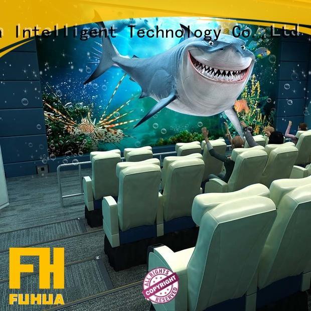 successful 5d cinema theater Realistic Effect for amusement park