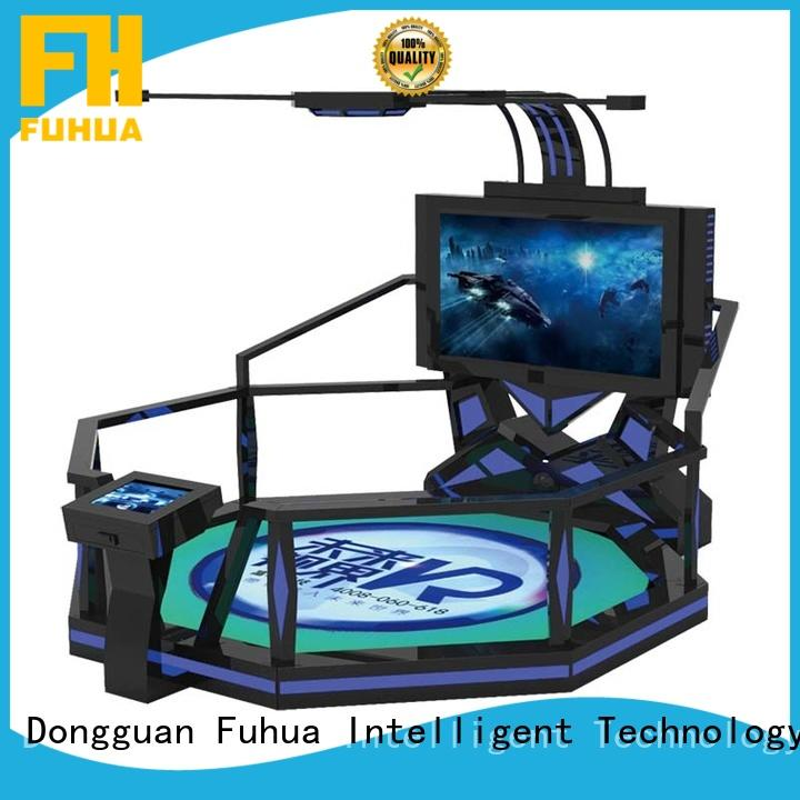 Attractive vr shooting platform dynamic control technology for theme park