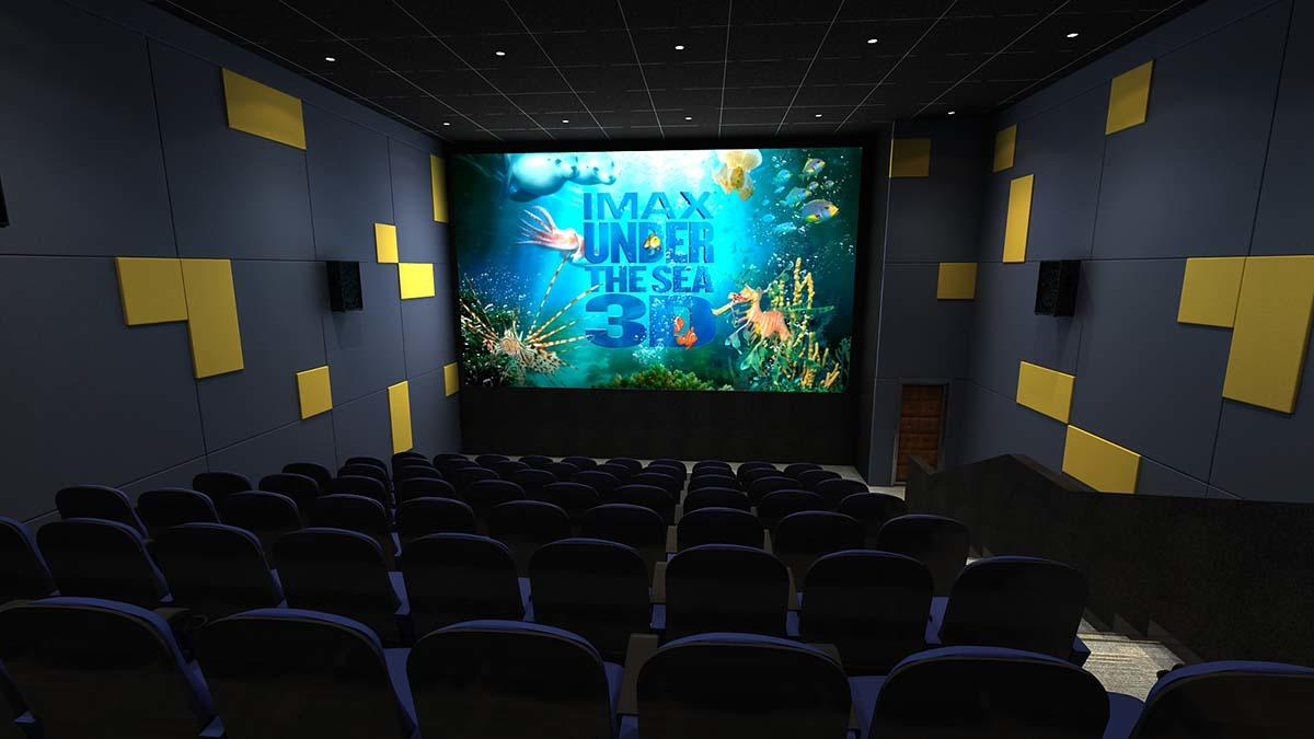 Fuhua economy 3d cinema system theater for park-1