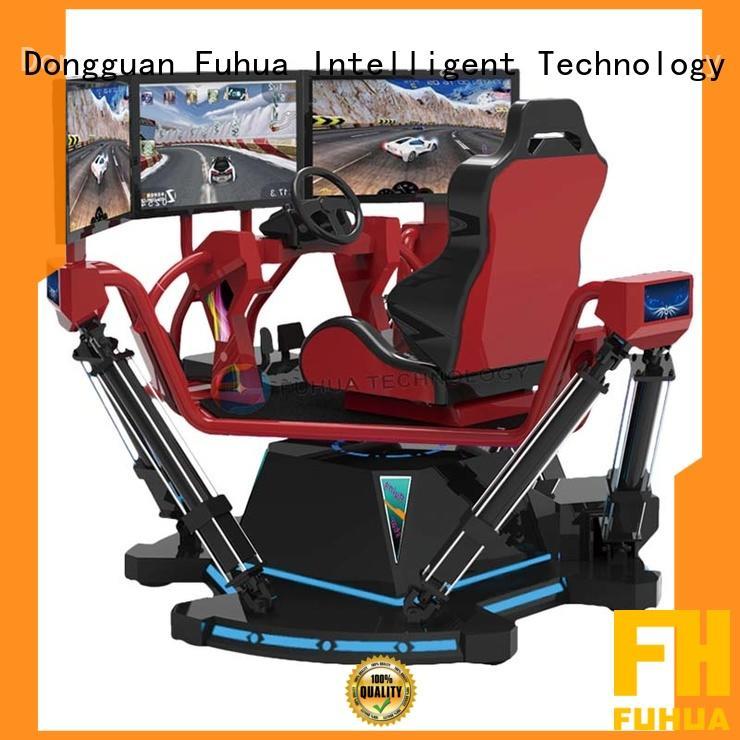 Fuhua car vr racing car dynamic control technology for park