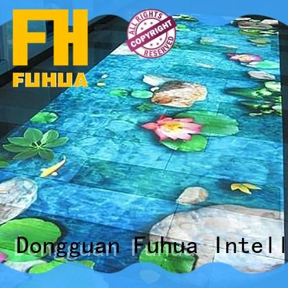 Fuhua kids 3d projection Enhance confidence for theme park