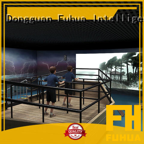 Fuhua 3d typhoon simulator for Science Education for commercial amusement