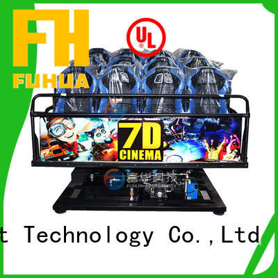 Fuhua high performance cinema 7d display system for space & science center