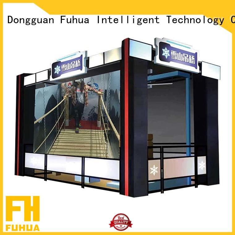 Interactive virtual reality bridge Special design Tourist Attractions