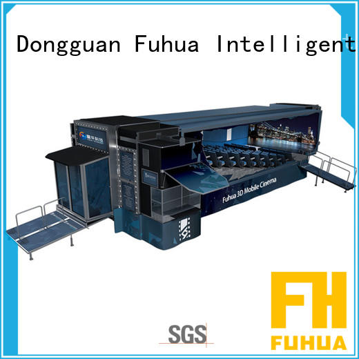Customized mobile theater cinema air conditioning system control system for tourist attractions