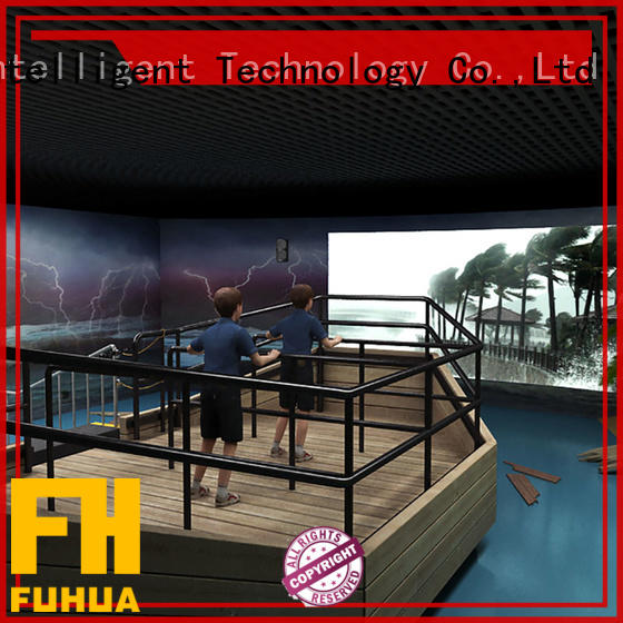 Fuhua 3d voyage simulator engines for scenic area