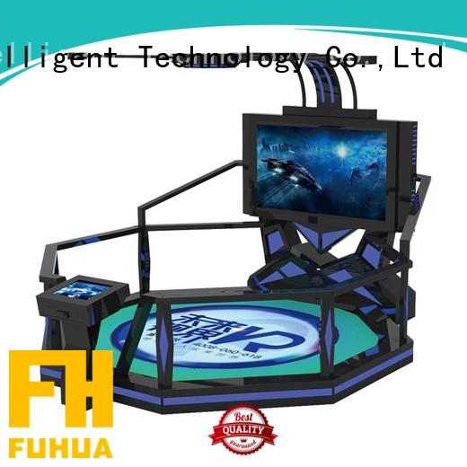 htc laser shooting simulator factory for theme park Fuhua