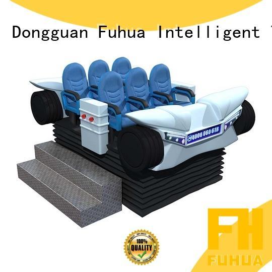 Fuhua fiberglass 9d virtual reality simulator Realistic Effect for amusement