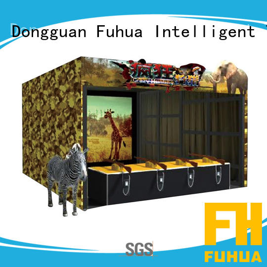 Fuhua arcade laser shooting simulator for sale for market