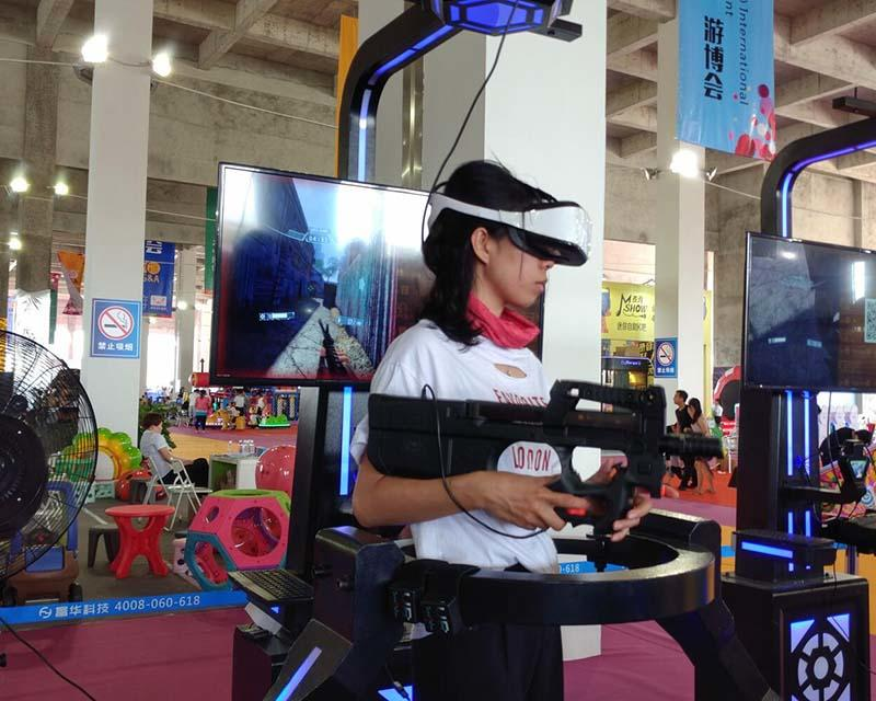 Fuhua arcade vr shooting dynamic control technology for market-1