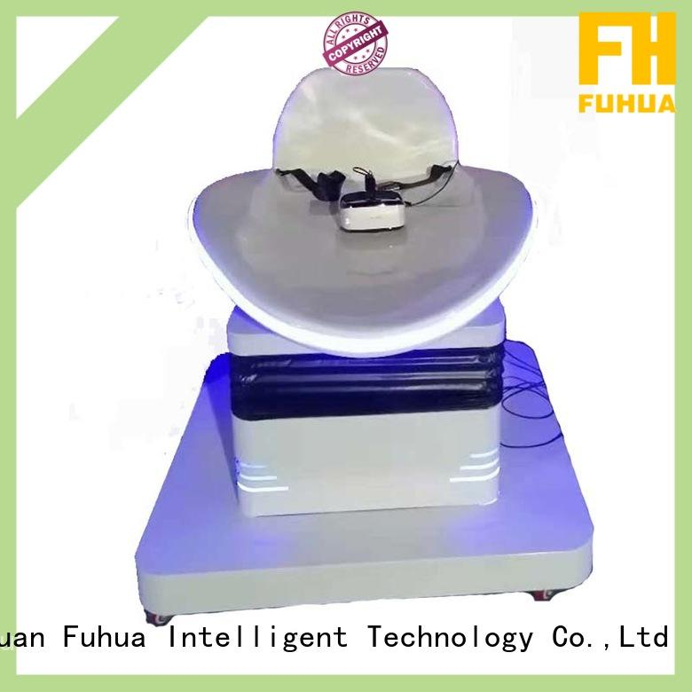 Fuhua Brand indoor 9d vr cinema platform factory