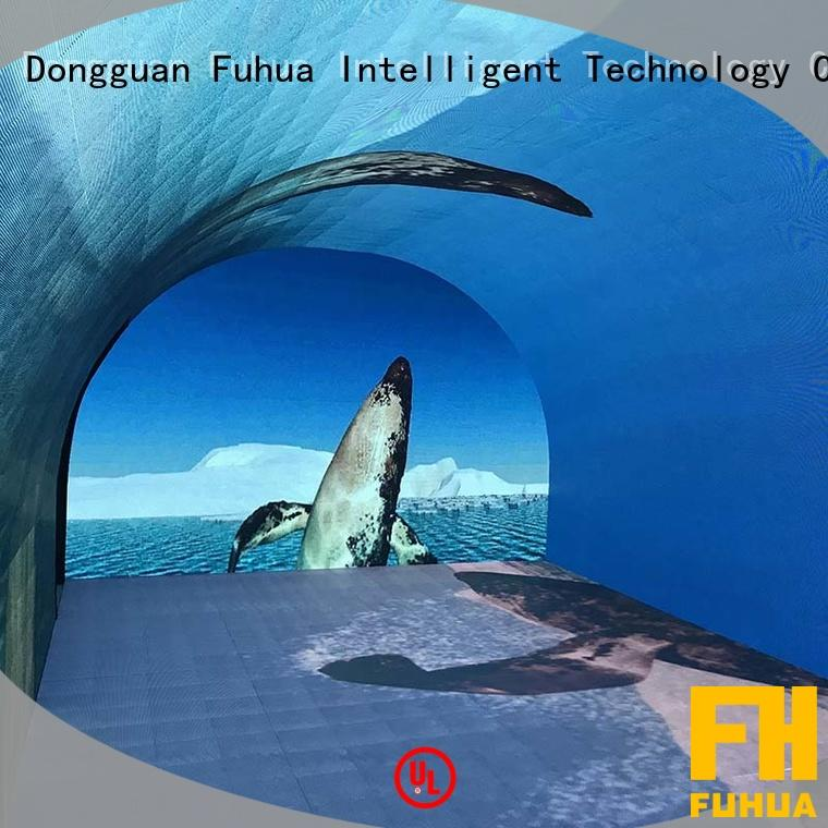 Interactive LED Wall Floor Stage Screen Time Tunnel Transparent Screen
