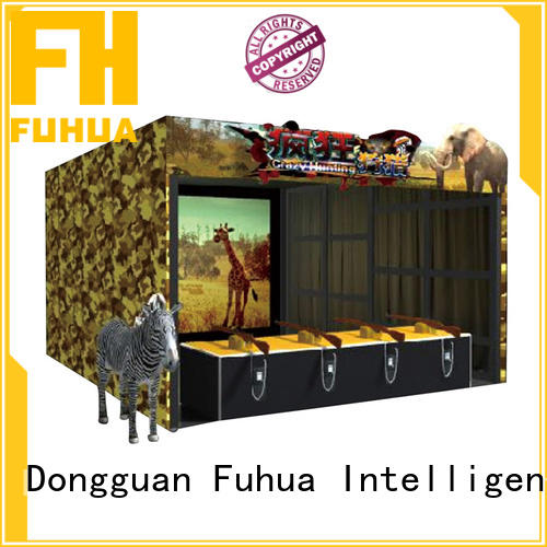 Fuhua Attractive hunting simulator dynamic control technology for theme park