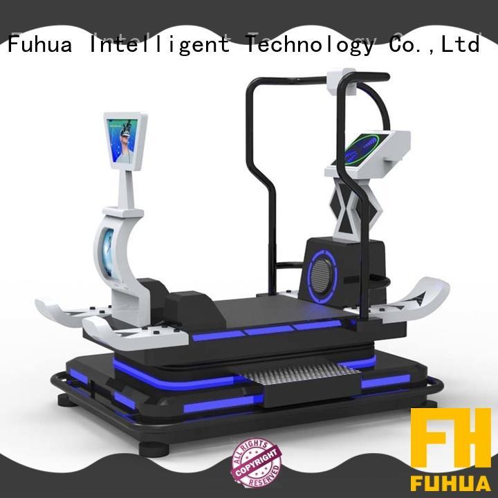 health vr treadmill degree for fitness game center