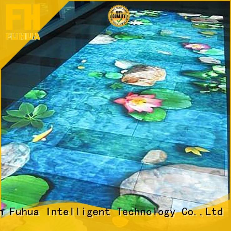 Fuhua projection 3d holographic projection Multiplayer for mall