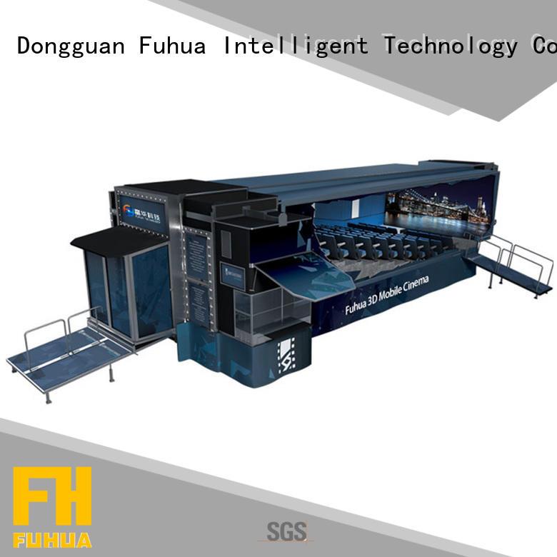 Portable mobile cinema equipment sound system for aquariums