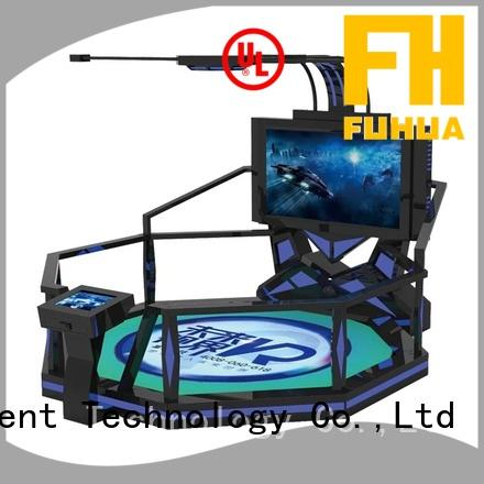 Fuhua Attractive shooting game simulator factory for amusement park