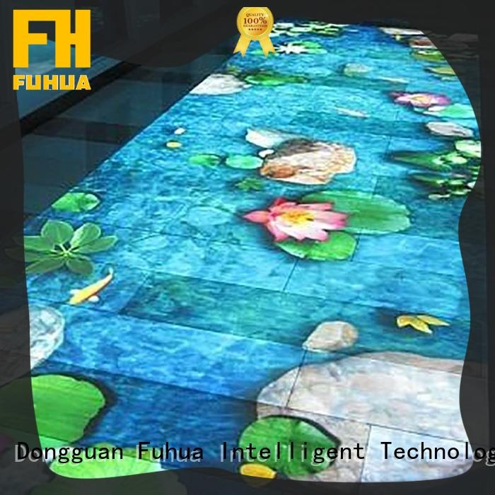 Fuhua Interactive interactive projection wall game for theme park