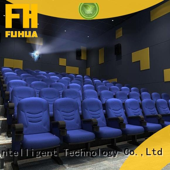 Fuhua theater cinema 3d system supply for amusement