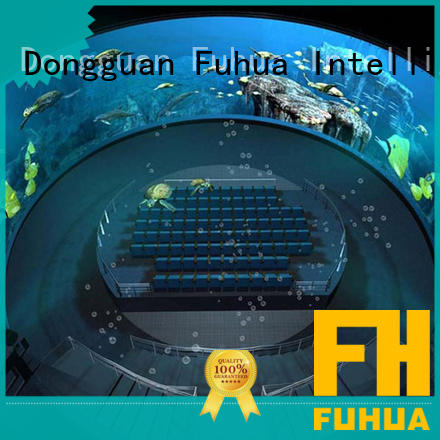 Fuhua Luxury dome theater China for commercial amusement