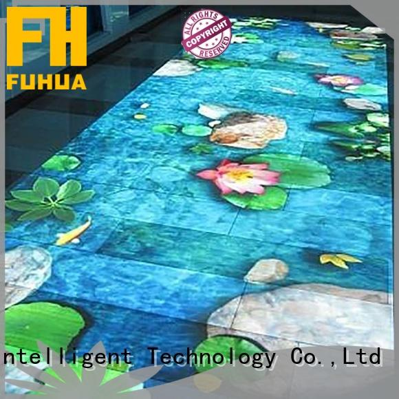 Fuhua Attractive 3d projection mapping supply for mall