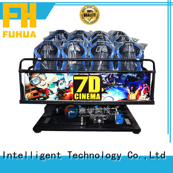 Fuhua interactive 7d cinema simulator special effects for clubs