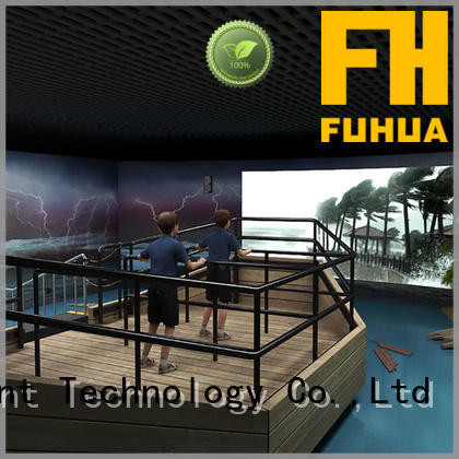Fuhua motion voyage simulator manufacture for museum